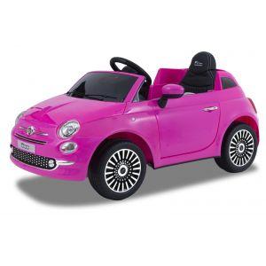 Fiat 500 pour enfant rose