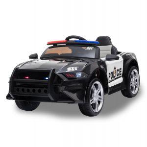 Kijana Ford GT style voiture électrique de police enfants noire