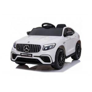 Mercedes GLC63s voiture électrique pour enfants 2 places blanche