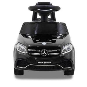Trotteur pour enfant Mercedes GLS63 noir de face