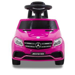 Trotteur pour enfant Mercedes GLS63 rose prijstechnisch