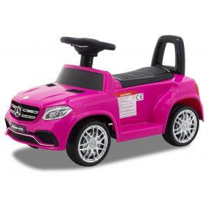Mercedes trotteur enfant GLS63 rose