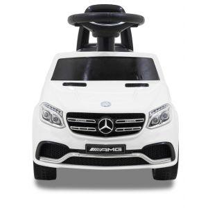 Mercedes elektrische loopauto GLS63 wit