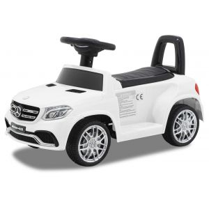 Mercedes trotteur enfant GLS63 blanc