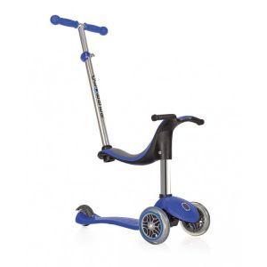 Globber trottinette enfant Go Up 4 en 1 Sporty bleue