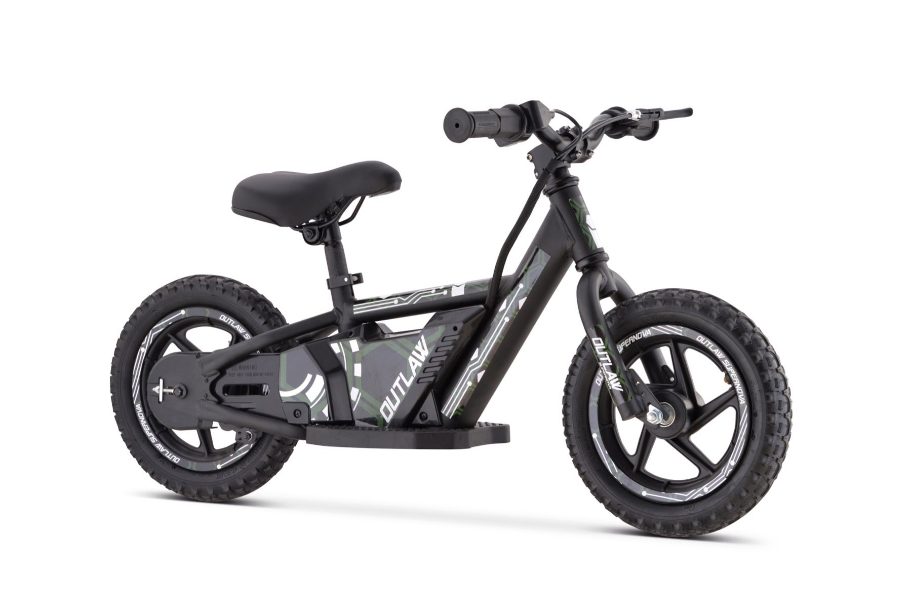 Kijana Outlaw vélo d'équilibre électrique 24V-180V vert