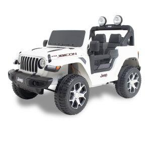 Jeep voiture pour enfant Wrangler blanche