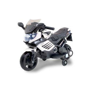 Kijana moto électrique pour enfants Superbike noir - blanc