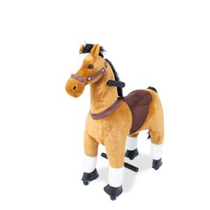 Kijana Cheval marron petit devant de cheval conduite