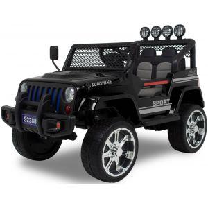Jeep voiture pour enfant Monster noire