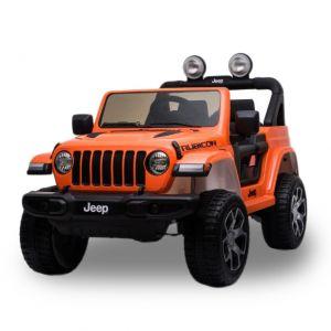 Jeep Wrangler Rubicon voiture électrique enfants orange