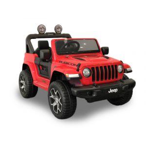 Jeep Wrangler voiture électrique pour enfants rouge