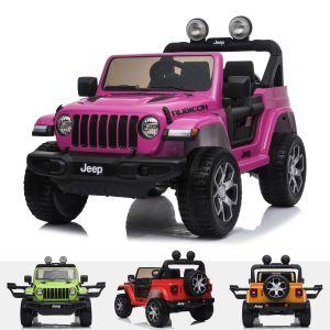Voiture électrique pour enfants Jeep Wrangler rubicon rose