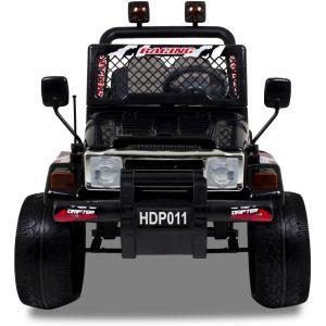 Kijana voiture pour enfant jeep flame noire
