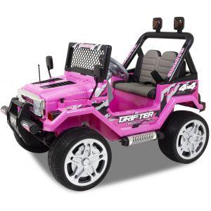 Jeep pour enfant Flame rose