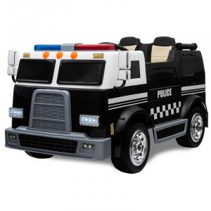 Kijana voiture de police électrique enfant 2 places