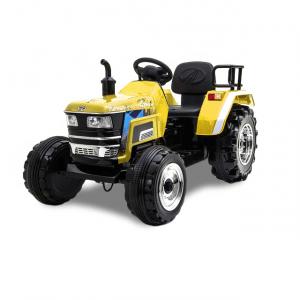 Kijana tracteur électrique enfant jaune 12V