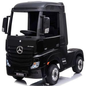 Camion enfant électrique Mercedes Actros noir