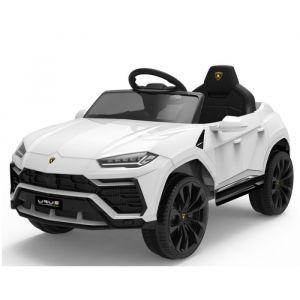 Lamborghini Urus voiture électrique pour enfants blanche