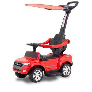 Ford ranger trotteur enfant électrique rouge+pare-soleil