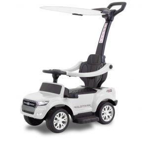 Ford ranger trotteur enfant électrique blanc+pare-soleil