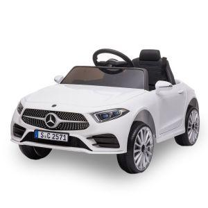Mercedes elektrische kinderauto CLS350 wit