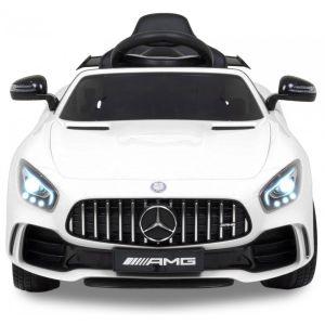 Mercedes GTR AMG pour enfant blanche prijstechnisch vehicle pour enfant