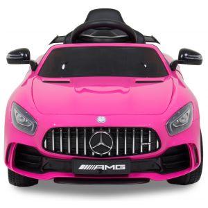 Mercedes pour enfant GTR rose vue de face