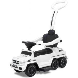 Mercedes voiture trotteur pour enfant G63 blanc