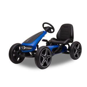 Mercedes kart à pédales enfant bleu