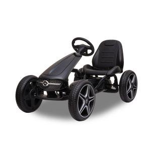 Mercedes kart à pédales enfant noir
