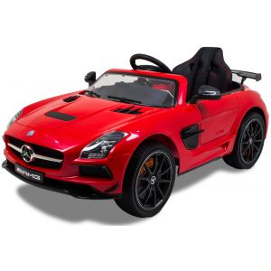 Mercedes voiture pour enfant SLS rouge