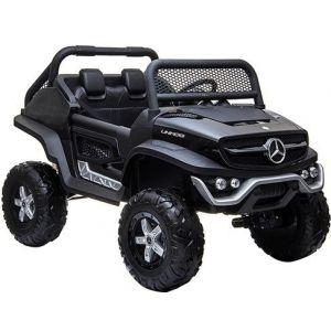 Mercedes Unimog Mini voiture électrique enfants noire