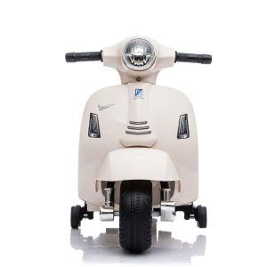 Vespa mini scooter électrique enfants blanc