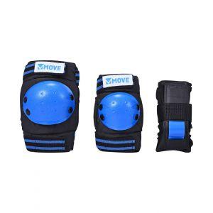 Move set de 3 protections bleues