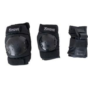 Move protections pour le patinage 3 pièces noires