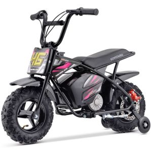Outlaw moto électrique pour enfants 24V-250W rose