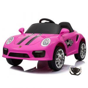 Kijana voiture enfant speedy porsche style rose