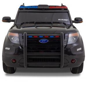 Voiture de police Jeep Ford style noir prijstechnisch vehicle pour enfant