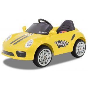 Kijana voiture enfant Speedy porsche style jaune