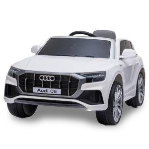 Audi Q8 voiture électrique enfants blanche