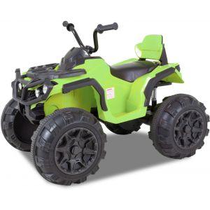Quad électrique pour enfant vert
