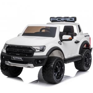 Ford Raptor voiture électrique pour enfants blanche