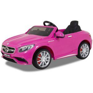 Mercedes voiture pour enfant AMG S63 rose
