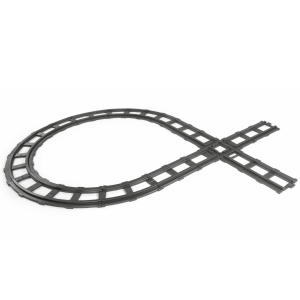 Peg Perego voie ferrée 11 parties Santa Fe