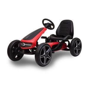 Mercedes kart à pédales enfant rouge