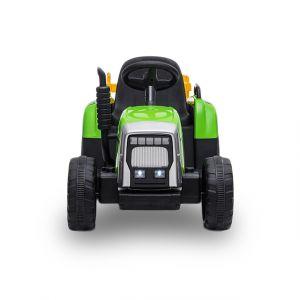 Kijana tracteur électrique enfants avec remorque verte