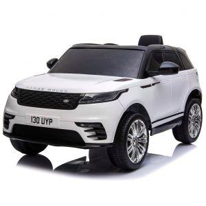 Land Rover Velar voiture électrique enfants blanche