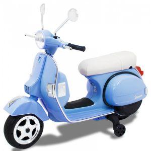 Scooter électrique pour enfant Vespa bleu