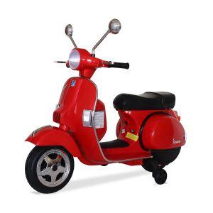 Vespa scooter électrique enfants rouge